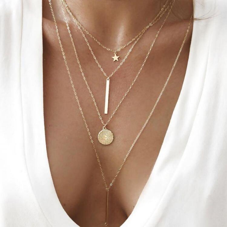 b450eb0b7 Viacvrstvový náhrdelník EC-N639