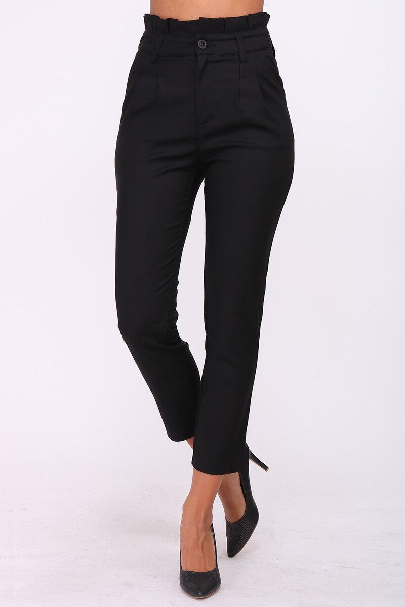96b0a7332e8e Elegantné nohavice s vysokým pásom