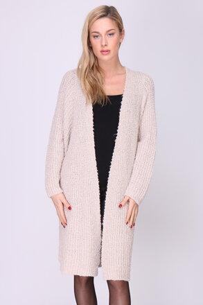 Béžový dámsky sveter 1705a6a2da
