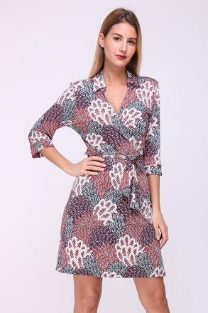 0671d313a7f Farebné vzorované šaty