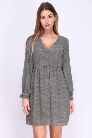 Zelené vzorované šaty f78bebdcf29