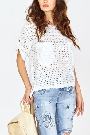 b18df91beec9 Biele dierované tričko IM-BL13614