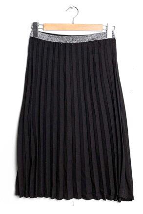 7c4b1447c5f2 Čierna plisovaná midi sukňa F-2A009