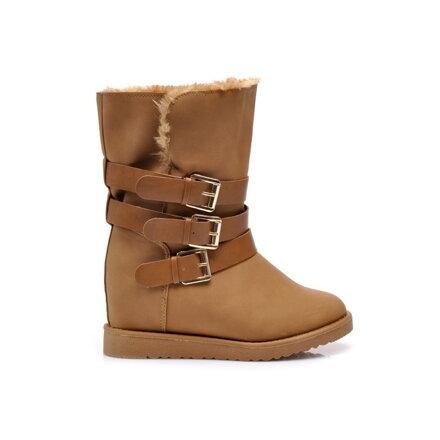 Dámske zateplené topánky na kline Y441-17C ec81cbcc72b