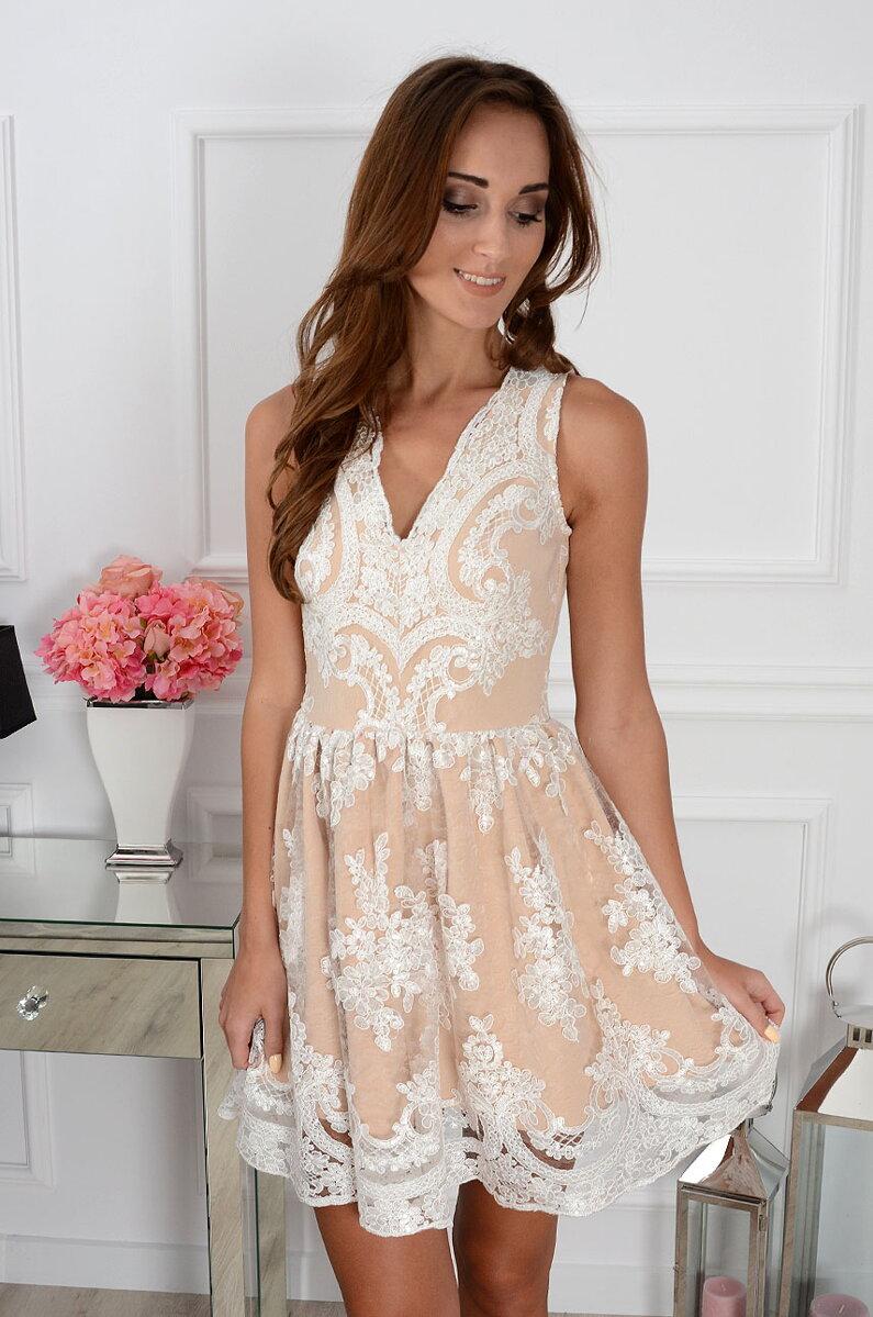 621f20aa1a7d Čipkované šaty Luxury Lace CO-29932