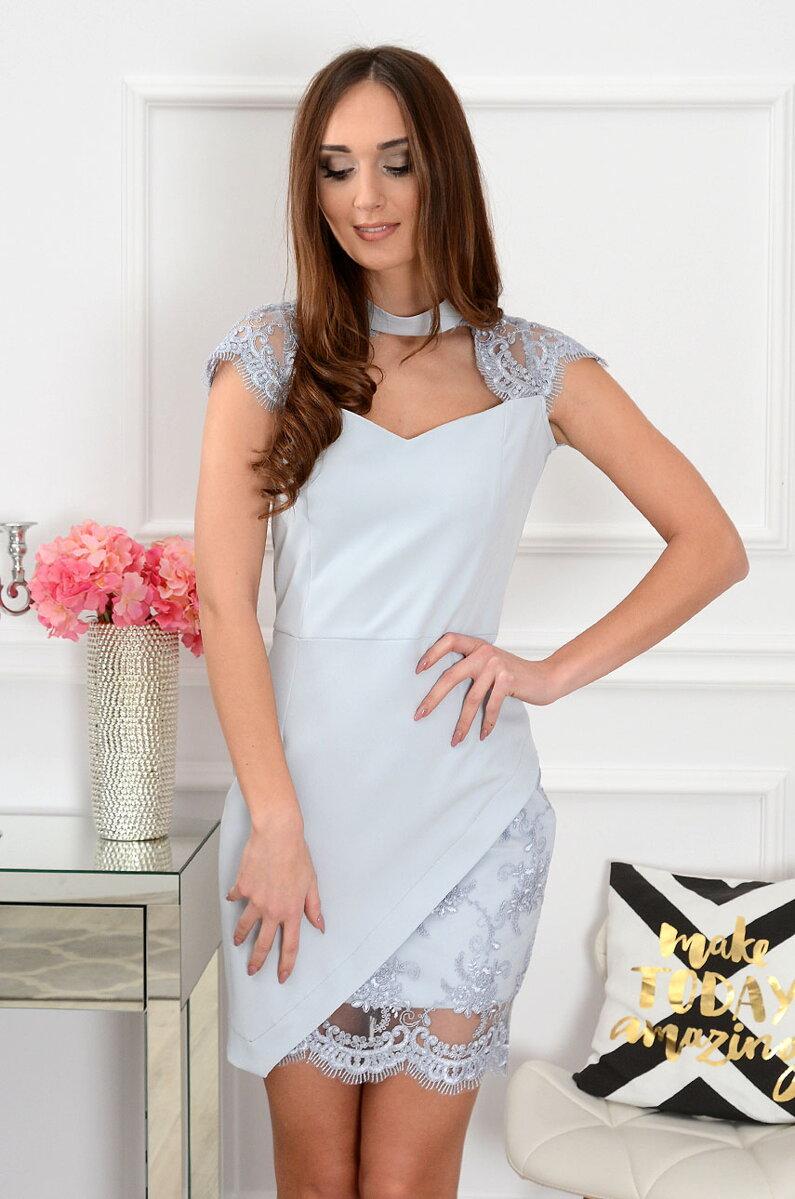 cce0a58e1 Elegantné šaty s krajkou Lucida CO-36019