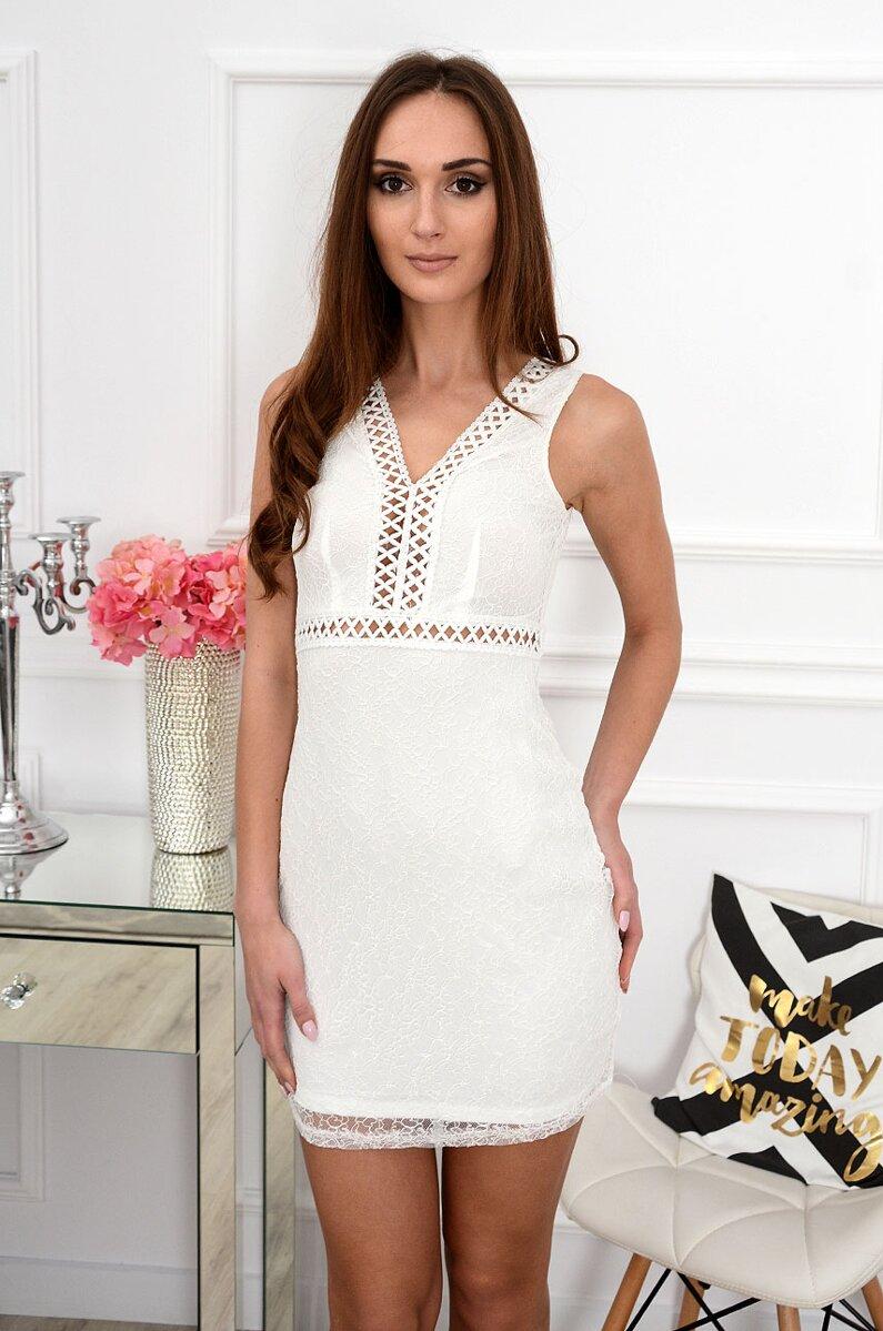 4da28d0e50dd Elegantné krajkované šaty Santana CO-37406