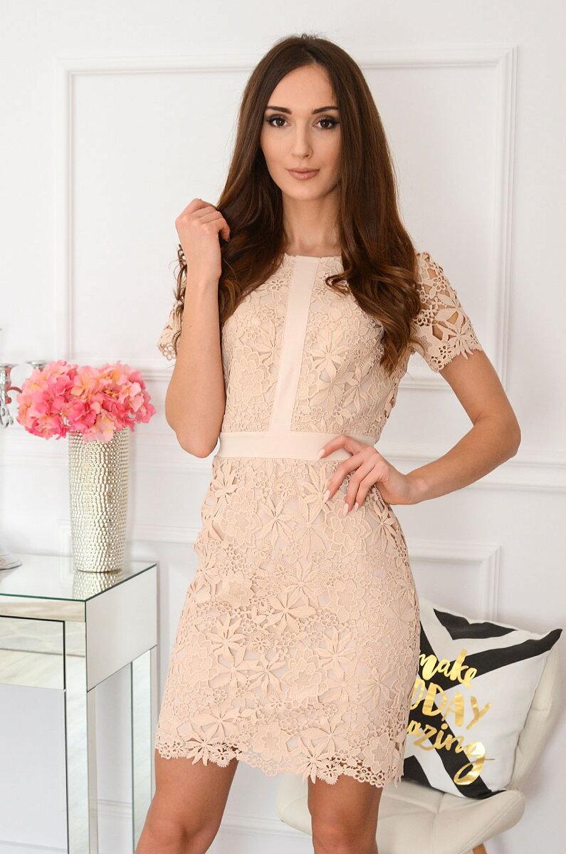 8aefd4b45b2c Previous. Béžové krajkované šaty Indigo New · Béžové krajkované šaty Indigo  New