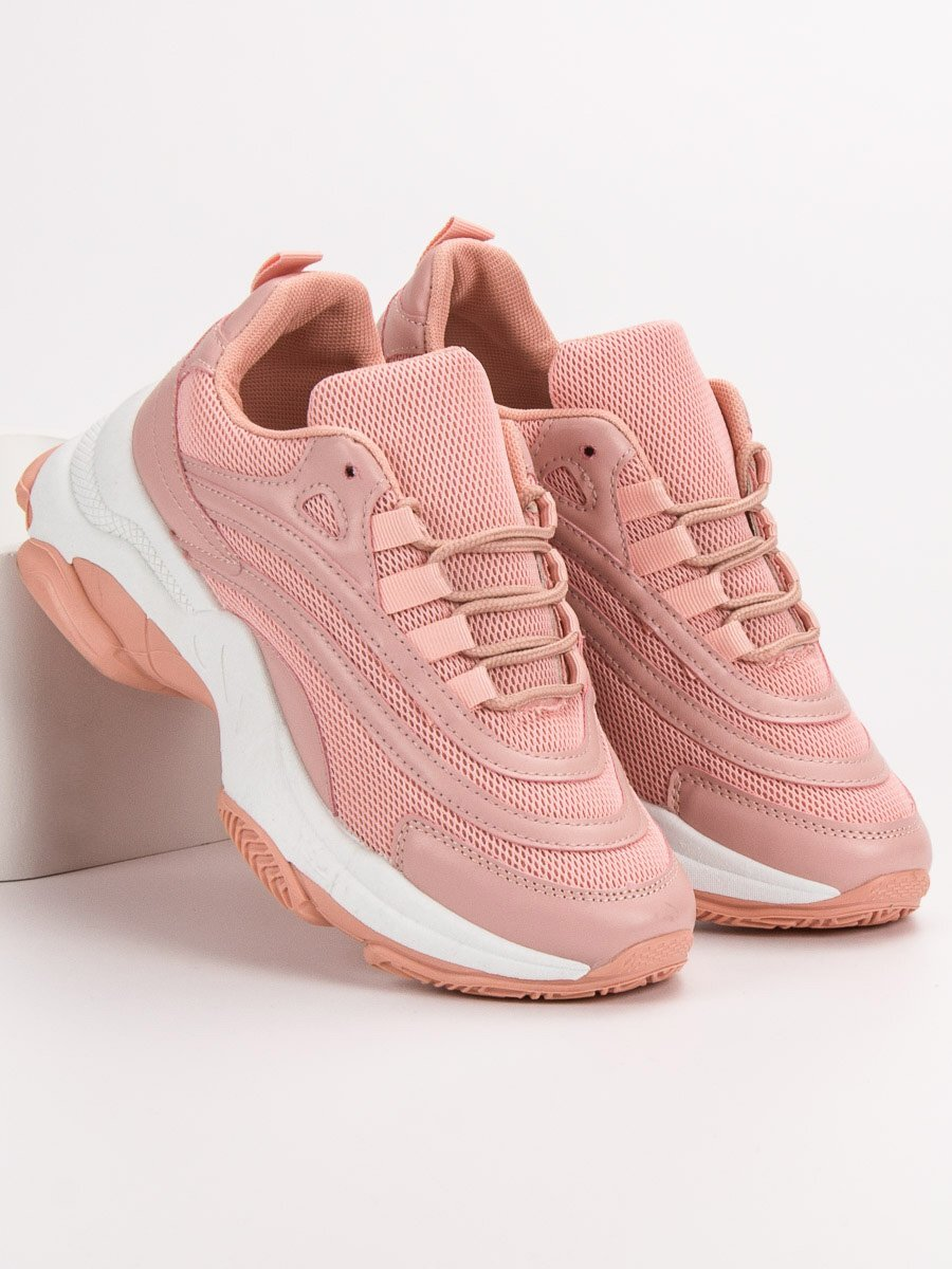 9e605e36d65bd Ružové dámske tenisky   planeta-mody.sk