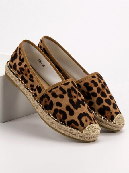 b0c079b7321e Hnedé leopardie espadrilly