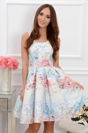 Pastelové midi šaty Lindsay CO-37214 7a86d81dc20