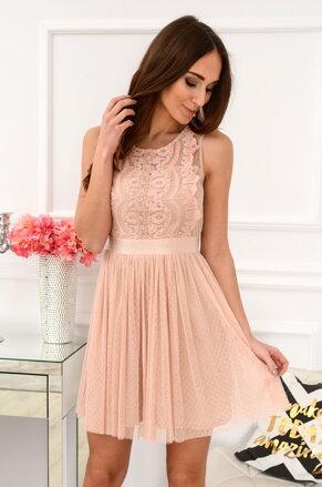 b528ad9944b Staroružové tylové šaty Doll