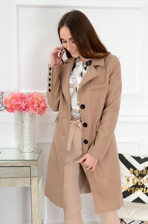 Béžový kabát Porter c4fc827d58e