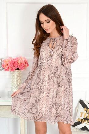 5b990bb64336 Staroružové oversize šaty Florence