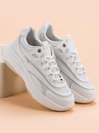 1ae5fa6e67a3 Módne biele tenisky